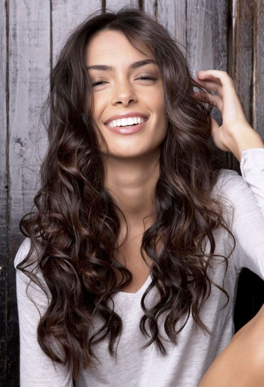 The most beautiful long hairstyles Curly   Hairstyle ...