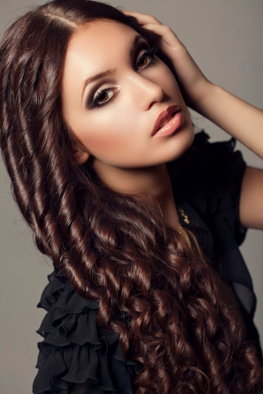 The most beautiful long hairstyles Curly - Hairstyle 2019