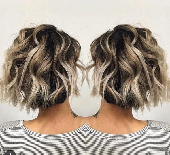 22 Trendy Short Hair Ideas For 2018 Straight Curly Hair Hairstyle Models For Women