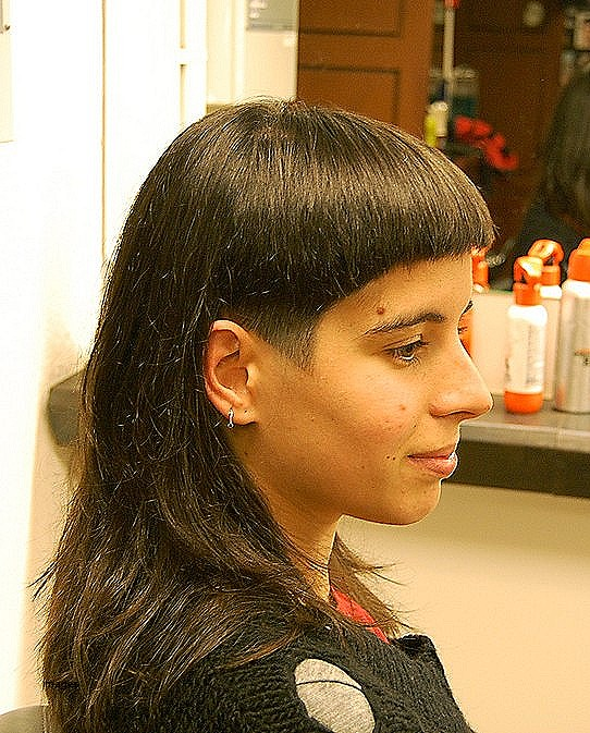 Dramatic hairstyles for long hair awesome dramatic long and short haircut with bangs hairstyles weekly