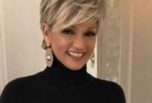 Photo of Splendid Short Haircuts for older women