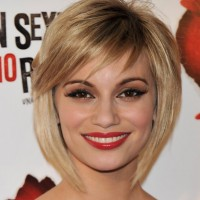 Norma Ruiz Cute Short Bob Haircut