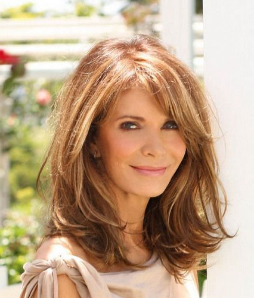 Amazing long hairstyles for women over 50 - Hairstyle Models for Women