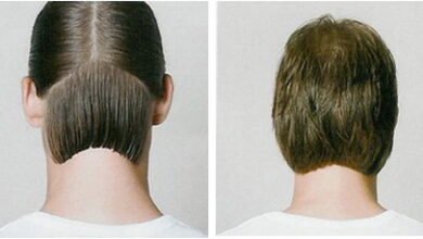 Photo of Concave haircut