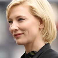 Cate Blanchett short bob hairstyle for women over 40