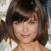 Sweet short bob hairstyle