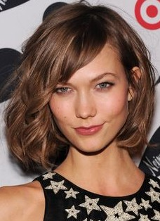 2018 Hairstyle with Side Swept Bangs