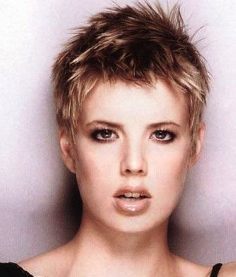 Short Spiky Hairstyles 2018 Hairstyle Models For Women
