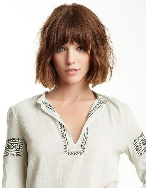 Back to school, short haircut - the bob cut with a wobbly pony