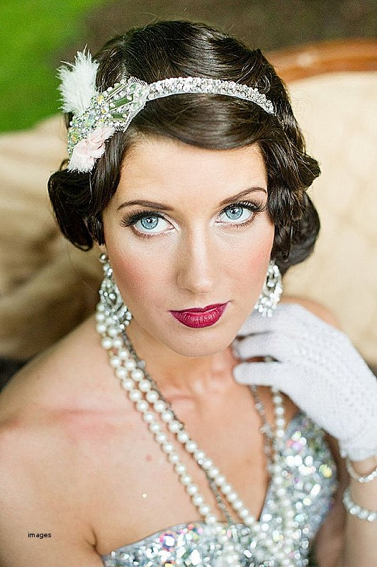 Gatsby inspired hairstyles for long hair Beautiful 46 Great Gatsby inspired wedding dresses and accessories