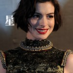Anne Hathaway - Short Wavy Curly Bob Haircut for Women