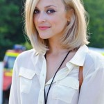Fearne Cotton's shoulder-length bob for fall