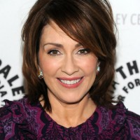 Patricia Heaton short bob hairstyle for women over 50
