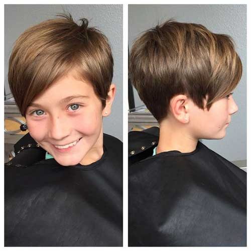 Nice short haircut