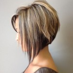 Side view of the Graded Bob Hairstyle - Trendy Bob Haircut for 2018