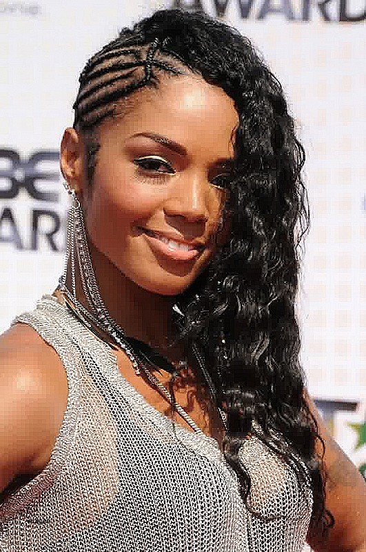 Black people hairstyles for long hair New Chic asymmetric long haircut asymmetric long haircut for