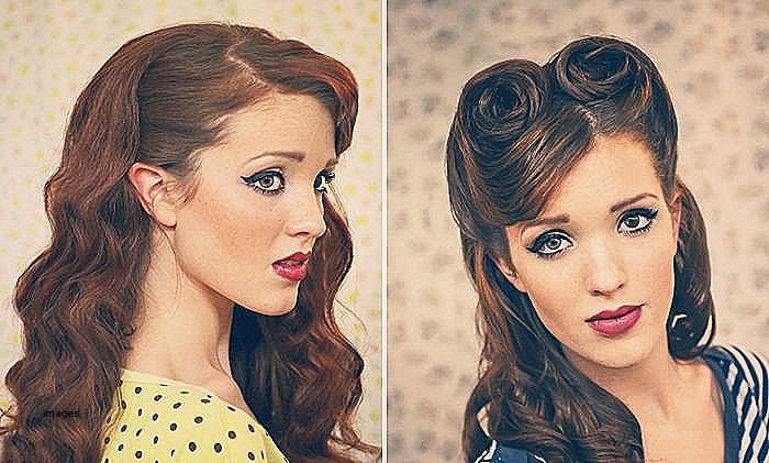 Fifties Hairstyles for Long Hair Inspirational Pin Up Hair Tutorial for Long Hair