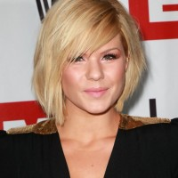 Kimberly Caldwell Short Bob Hairstyle