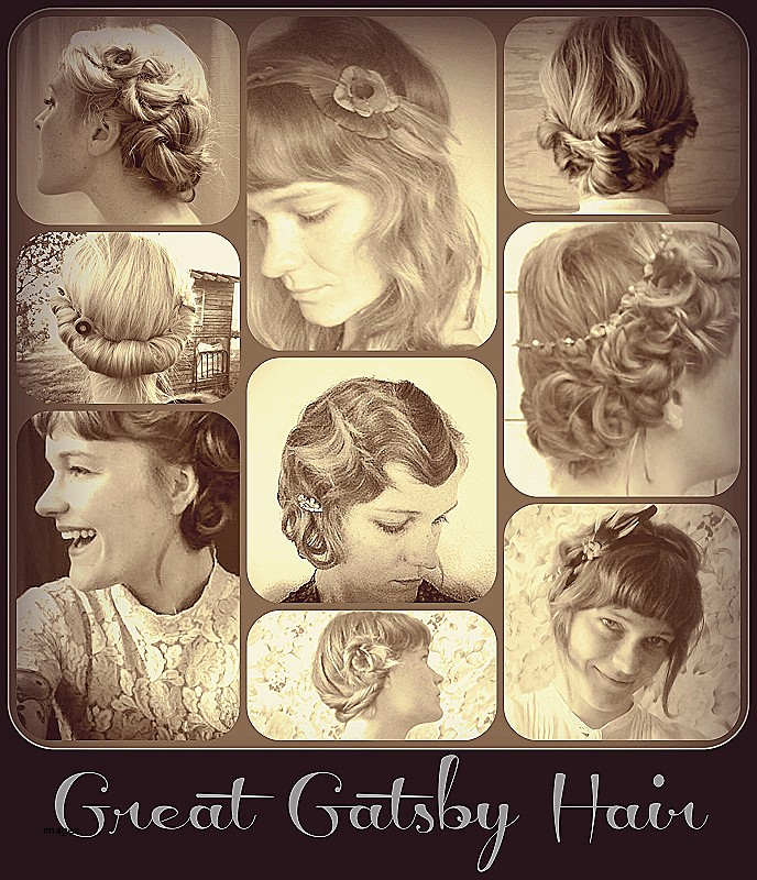Gatsby inspired hairstyles for long hair Unique as Hair Girl